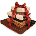 Festive-Chocolate-Gift-Tower-Medium